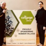 Christmas cheer in the village of Nobber