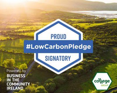 College Group Low Carbon Pledge